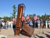 911 Memorial to Bucks County Victims of the act of war committed by Islam on 9/11/2001 - Ceremony on 9/11/2010