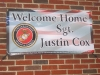Northeast PA:Welcome Home Sgt. Justin Cox