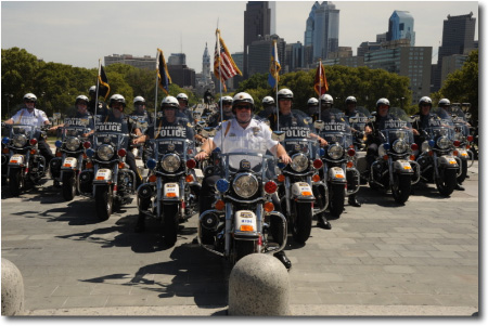 Philadelphia Highway Patrol Drill Team