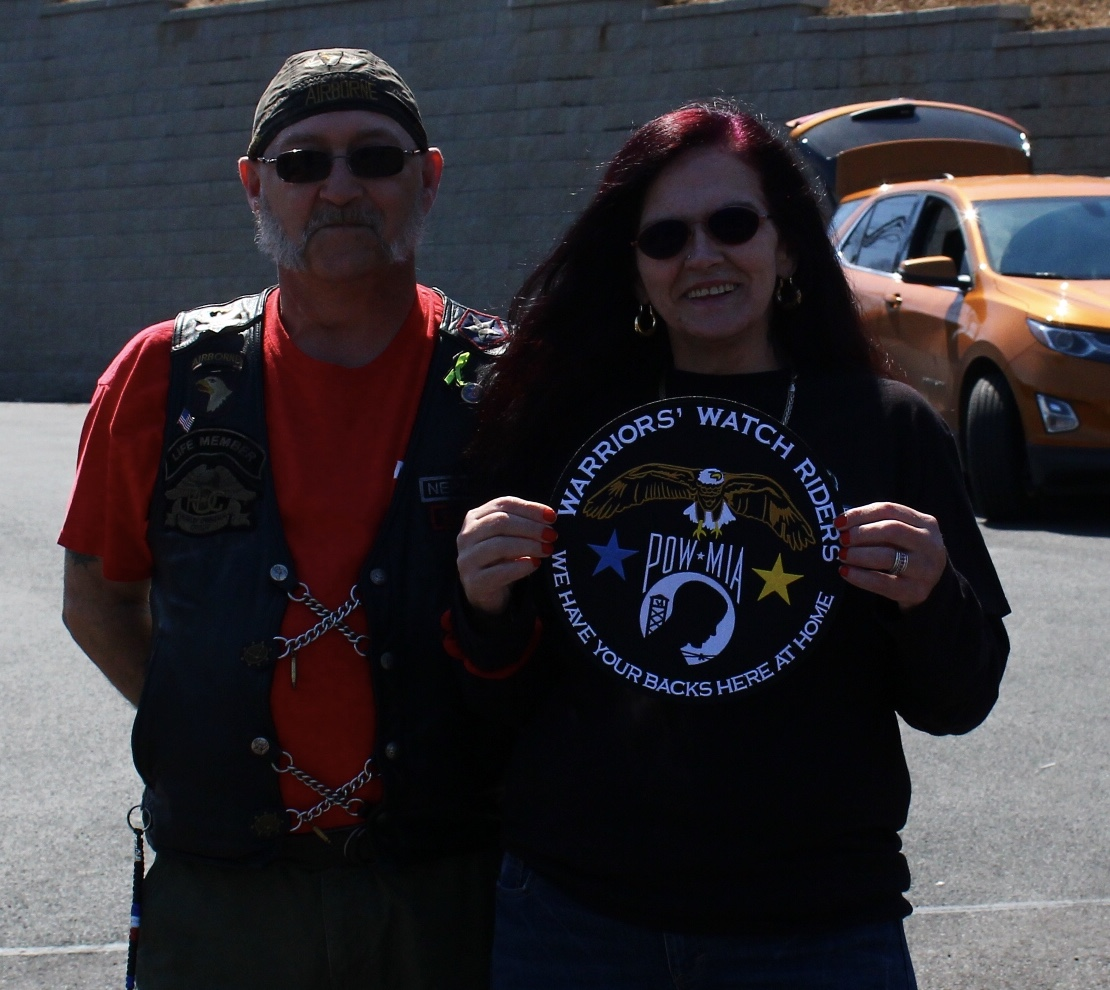 NEPA 4 14 Surprise Mug n Hug Warriors  Watch Riders  WE HAVE YOUR ... c58a6c86e